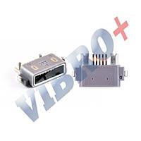 Разъем зарядки для телефона Sony C5302, C5303, C5306, C6502, C6503, C6506 (micro USB)
