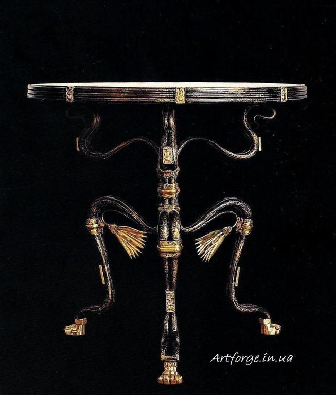 """Коллекция """"Египет"""" Лестница, диванчики, столы, стулья, элементы декора 2"""