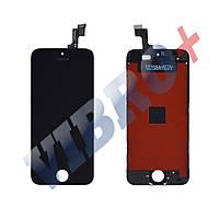 Дисплей iPhone 5S, iPhone SE с тачскрином в сборе (цвет черный), TEST OK