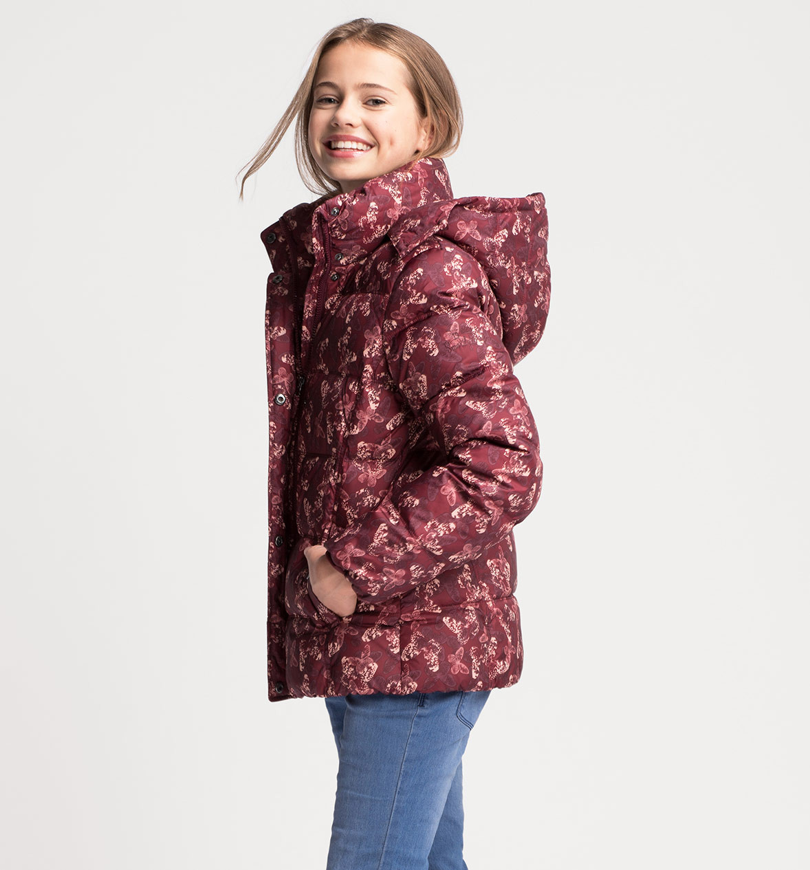 Куртка пуховик на девочку C&A Германия Размер 158