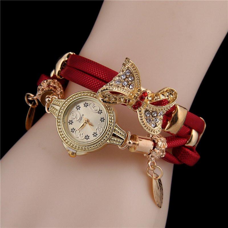 Часы женские наручные Selin red
