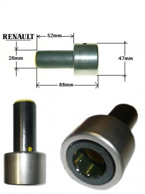 Флянец выжимного подшипника Renault Kangoo 1.2/1.4i/1.5dCi/1.9d  d=47mm