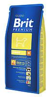 Brit Premium Junior M для щенков и молодых собак средних пород, 15 кг