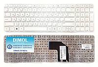 Оригинальная клавиатура для ноутбука HP Pavilion G6-2000 series, white, ru, с рамкой