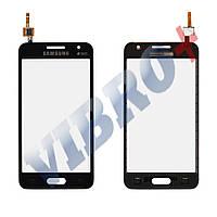 Тачскрин (сенсор) Samsung Galaxy Core 2 G355H, цвет черный, на 2 sim карты, ревизия 0, копия высоког