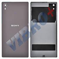Задняя крышка Sony Xperia Z5 (E6603, E6653, E6683), цвет серый