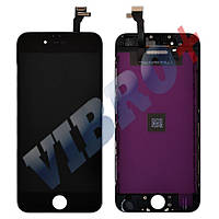 Дисплей iPhone 6 (4.7) с тачскрином в сборе (цвет черный), копия высокого качества, ТЕСТ ОК