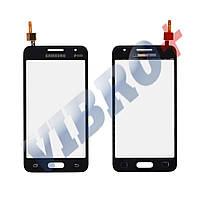 Тачскрин (сенсор) Samsung Galaxy Core 2 G355H, цвет черный, на 2 sim карты, маленькая микросхема