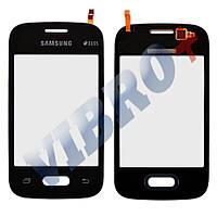 Тачскрин (сенсор) Samsung Galaxy Pocket 2 G110, G110B, G110F, G110M, цвет черный, маленькая микросхе