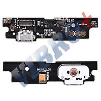 Разъем зарядки для телефона Meizu M3 Note (M681h) с нижней платой