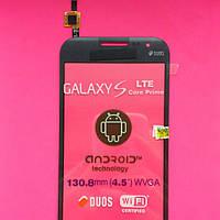 Сенсорный экран для Samsung G361 Galaxy Core Prime VE серый