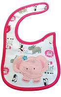 Слюнявчик Carter´s Розовый слон