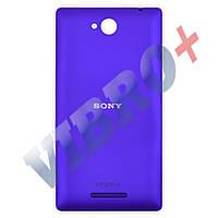 Задняя крышка Sony C2305, фиолетовая