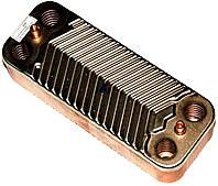 Теплообменник ГВС пластинчатый (вторичный) SWEP,- 16 ПЛАСТИН, NEW SERENA, Viessmann WH1D, код сайта 0539