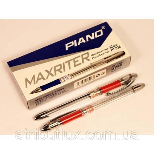 Ручка кулькова PT-338 Maxriter (0.5 мм) червона