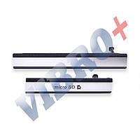Боковая заглушка Sony D6502, D6503 Xperia Z2 L50W, цвет черный