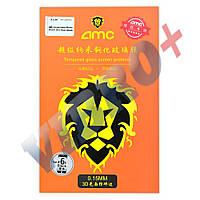 Защитное стекло AMC для iPhone 6, 6S (4.7) 3D 0.15mm, цвет черный