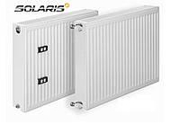 Стальной радиатор Solaris 11 тип  500H x500L боковое подключение
