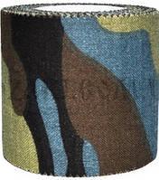 Лента маскировочная 5 х 450 см клейкая Woodland Camo ,хлоповое покрытие.