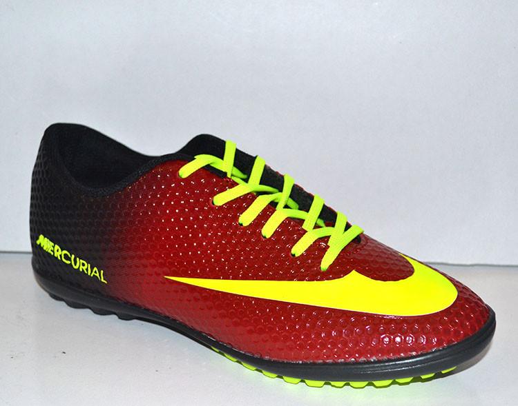 4d908d20 Кроссовки футбольные (сороконожки) Nike Mercurial фабричные NI0018 - Обутик  в Харькове