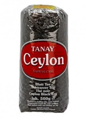Чай черный крупнолистовой Tanay 500 г