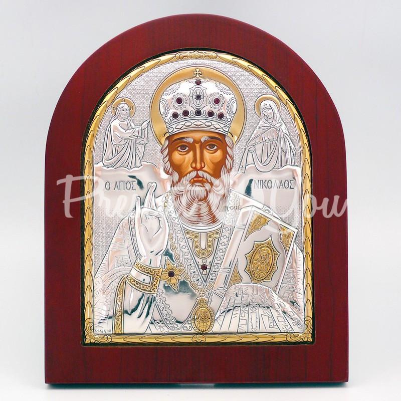 Икона «Святой Николай Чудотворец», 18х15 см.