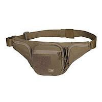 M-Tac сумка-кобура поясная Elite Gen.2 с липучкой Coyote