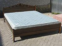 Одоспальне ліжко Ясен Різьба 3