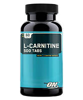 Optimum Nutrition L-carnitine 500, 60 таб.