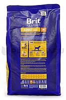 Brit Premium Adult M для взрослых собак средних пород, 1 кг.