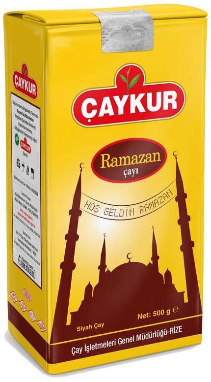 Чай турецкий черный мелколистовой Caykur Ramazan 500 г