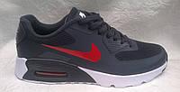Мужские кроссовки Nike air max 90 Hyperfuse синие с красным