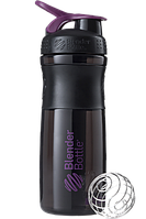 Шейкер  Blender Bottle SportMixer (760ml Black/Plum)