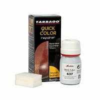 Крем-восстановитель для гладкой кожи Tarrago Quick Color, 25 мл, цв. темно серый (657)