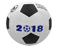 Мяч футбольный резиновый SIMPLE BALL №4