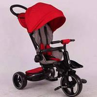 Детский трехколесный велосипед Azimut MODI T-600, красный