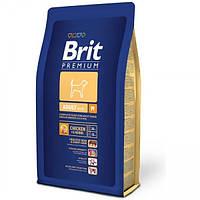 Brit Premium Adult M для взрослых собак средних пород, 15 кг.