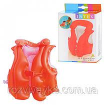 Надувной детский жилет Intex 58671