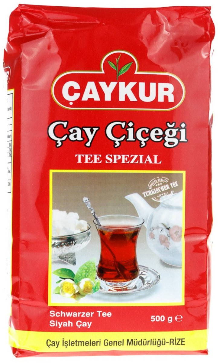 Чай турецкий  черный мелколистовой Caykur Cay Cicegi 500 г