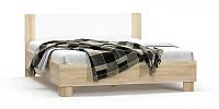 Недорогая двуспальная кровать Маркос, с ортопедическим основанием (ламель 1800). Мебель-Сервис.