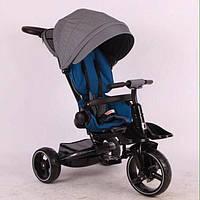 Детский трехколесный велосипед Azimut MODI T-600, серый, фото 1