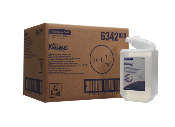 Жидкое мыло-пена для рук KIMCARE GENERAL Luxury бесцветный