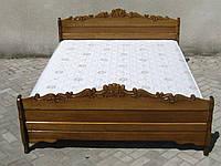 Одоспальне ліжко Ясен Різьба 1, фото 1