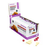 Овсяное печенье, Skinny Cookies 12x50g, Lemon & Chia Seed (MyProtein)