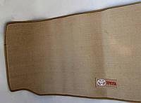 Коврик в багажник текстильный Toyota Sequoia 2008- материал Lexus беж. (1шт/комп)