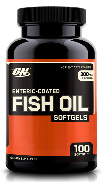 Optimum Nutrition Enteric Coated Fish Oil 100 softgels