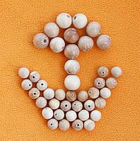 Набор можжевеловых бусин, 14 и 10 мм, 42 шт.