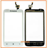 Сенсор (тачскрин) Lenovo A356 White Original