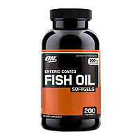 Optimum Nutrition Enteric Coated Fish Oil 200 softgels