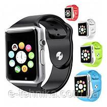 Смарт часы SmartYou A1 Silver (черный, синий, красный, белый)